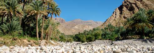 Vallée aride, Oman