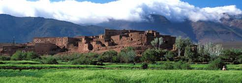 Village du Saghro, Maroc