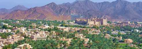 Ville et fort de Nakhl, Oman