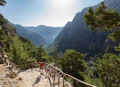 Crete, randonnée dans les gorges de Samaria