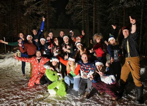 Equipe Norwide en Finlande