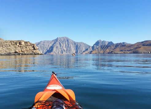 Kayak de mer à Oman