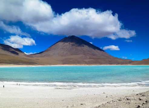 Laguna Verde en Bolivie