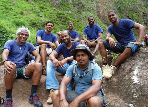 Notre équipe locale au Cap Vert