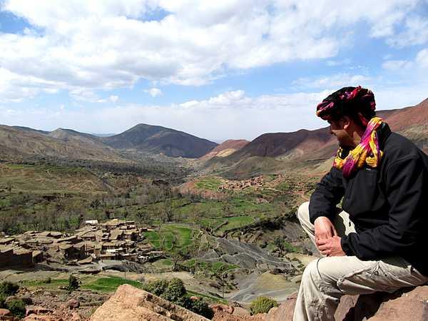 Contreforts de l'Atlas, Maroc