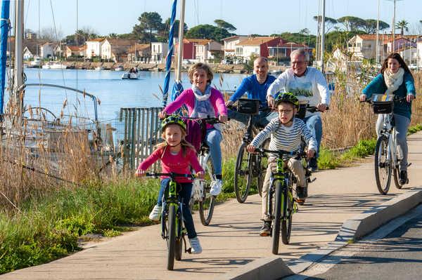 Famille port Bassin d'Arcachon