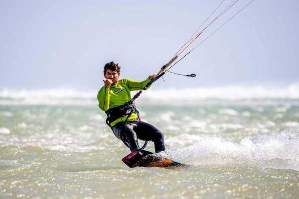 kitesurf session à Risco del Paso avec ION CLUB