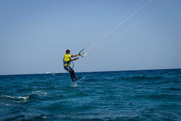 kitesurf session à Safaga avec ION CLUB