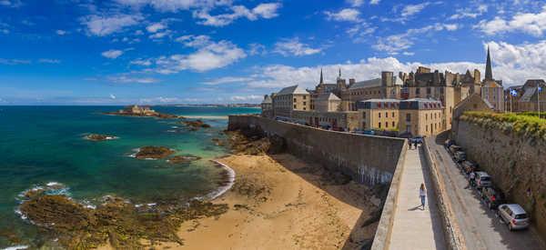 Les remparts de St Malo, Bretagne