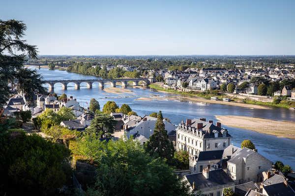 Panorama ville de Saumur