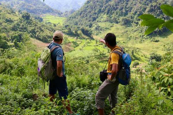 Vue sur les rizières de Ha Giang