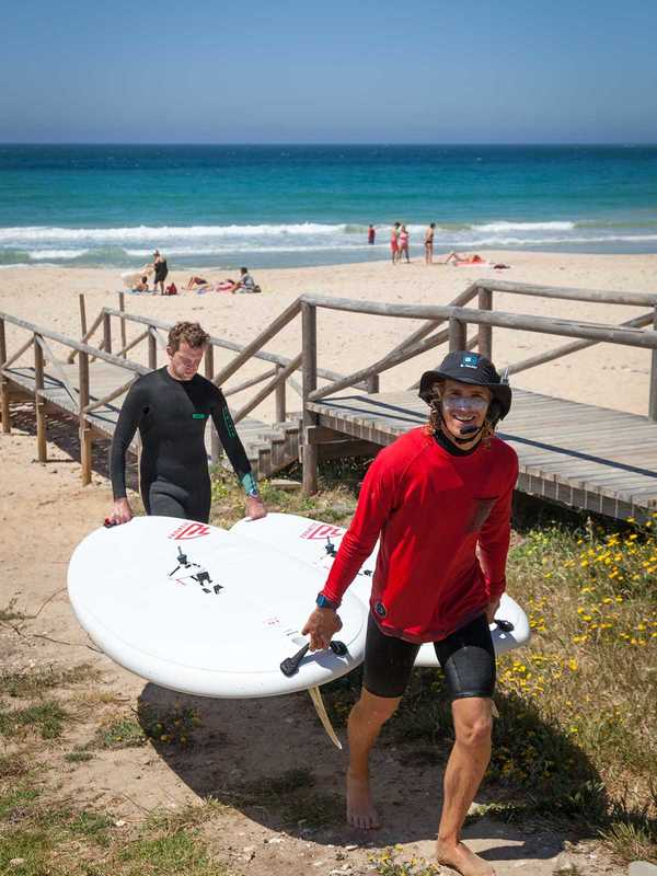 windsurf course session à Tarifa avec ION CLUB