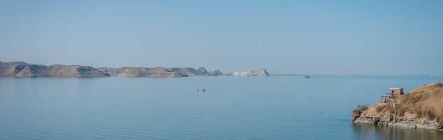 Lac Nasser en Egypte