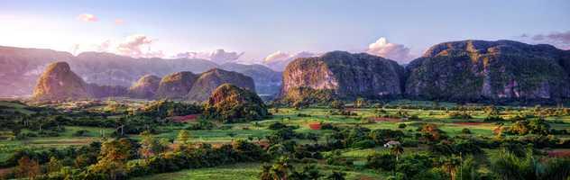 Les Mogotes de la Vallée de Viñales