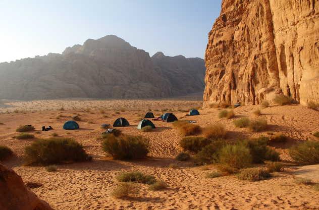 Jordanie - Bivouac Wadi Rum