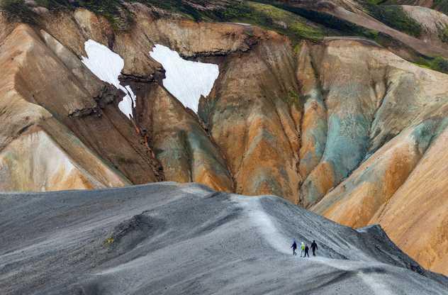 Montagnes de Landmannalaugar dans la réserve naturelle de Fjallabak