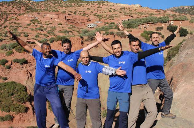 Notre équipe locale au Maroc