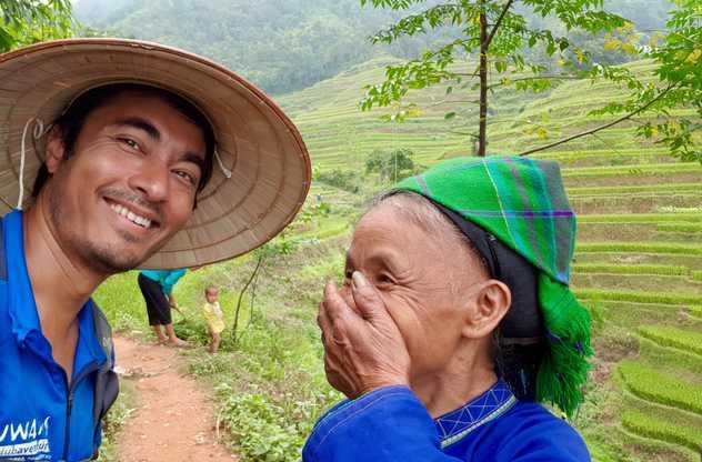 Quelques rencontres au cours du trek au nord du Vietnam