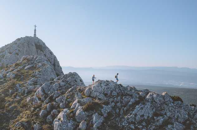 Randonnée à la Sainte Victoire et croix de Provence