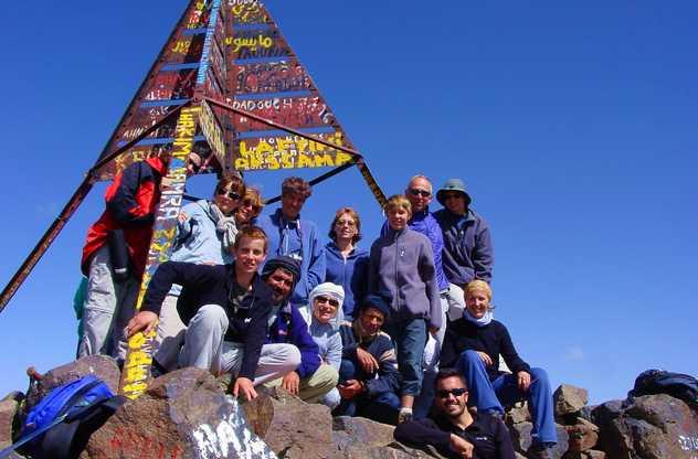 Sommet du Toubkal au Maroc