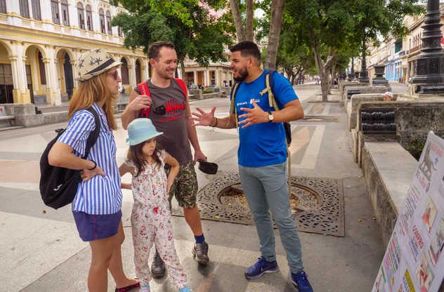 visite de la Havane en famille