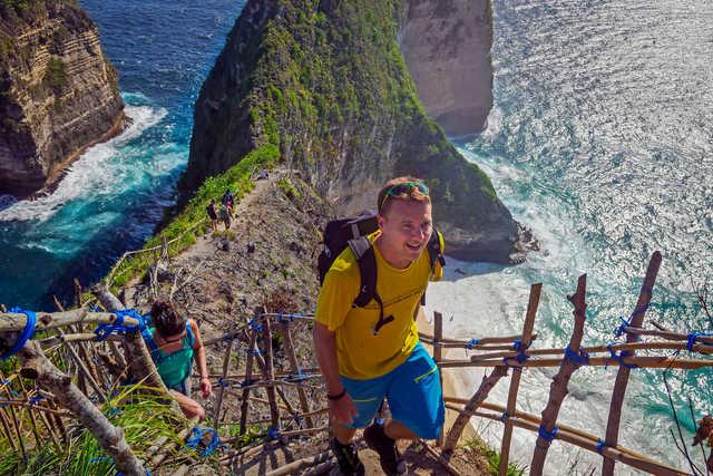 Randonnée à Nusa Penida en Indonésie