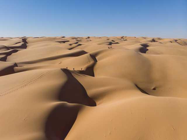 Trek dans le désert du Sahara