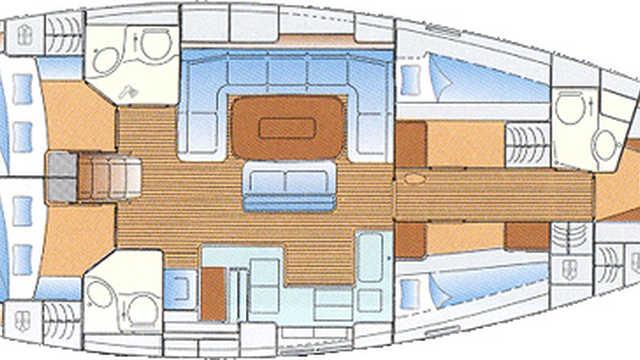 Bateau de croisière en voilier Humla, Norvège