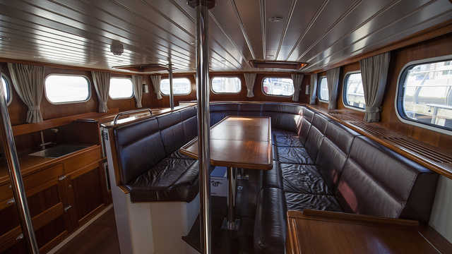 Cabine du bateau Valiente