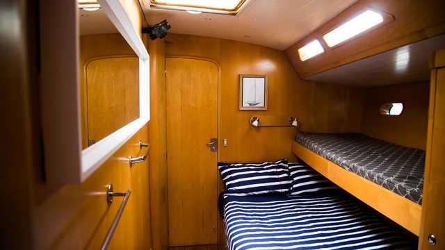 Chambres du bateau Lifesong au Groenland