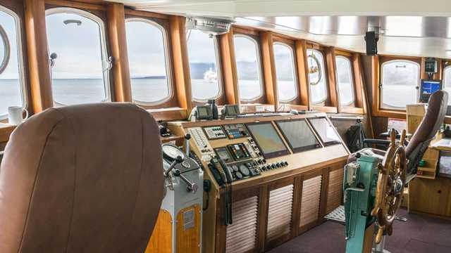Commandes de bord du bateau de croisière Grand Large
