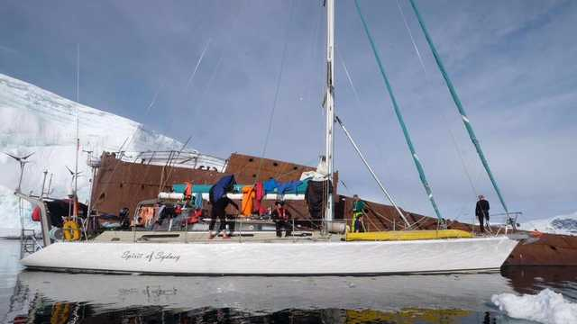 Croisière polaire voilier antarctique