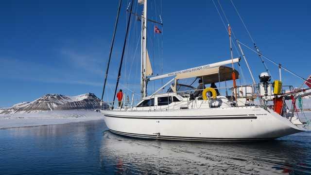 Croisière en bateau en Arctique, Spitzberg