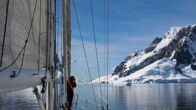 Croisière polaire en Antarctique, voilier Esprit d'Equipe