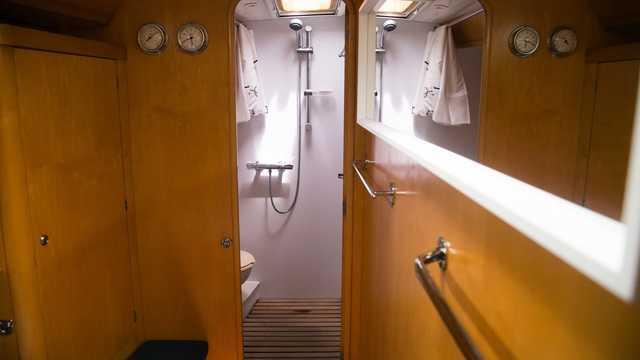 Douche du voilier Lifesong