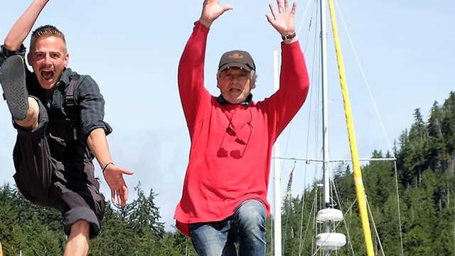 Equipage du bateau Qilak, croisière en voilier en Alaska
