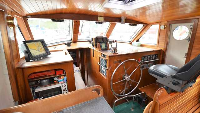 Pilotage du bateau Qilak