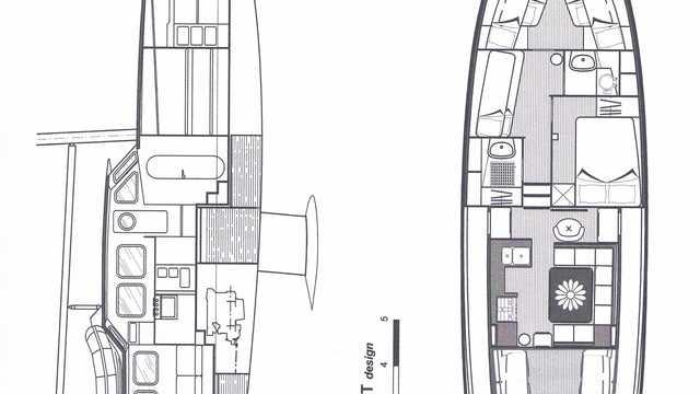 Plan de bateau du bateau Qilak