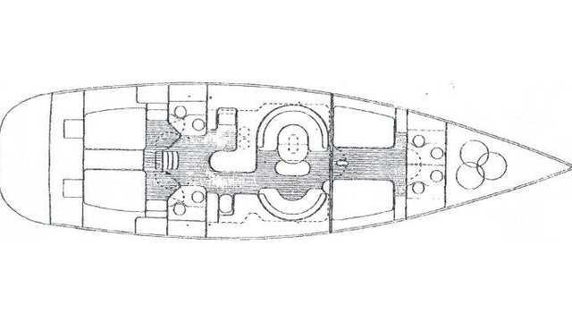 Plan du bateau Tarka