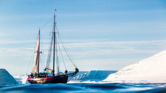 Voilier de croisière en Islande Arktika