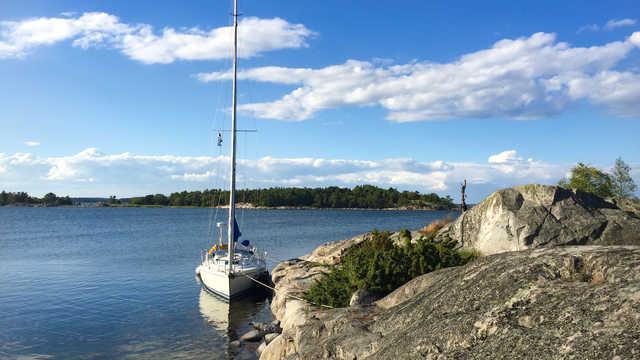 Voilier Vind o Vatten, croisière en Suède