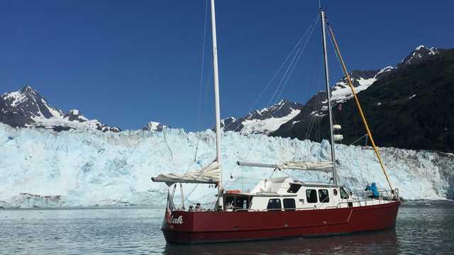 Voyage en bateau en Alaska, au pied des glaciers