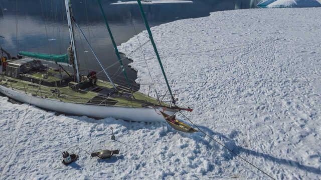 Voyage en voilier et kayak en Antarctique
