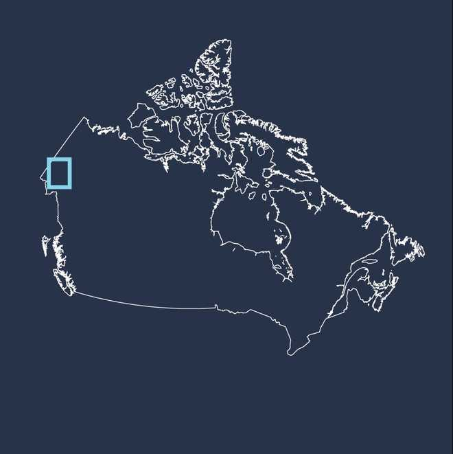 Carte voyage Canada