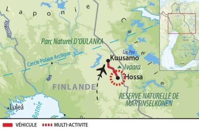 Carte Voyage Finlande