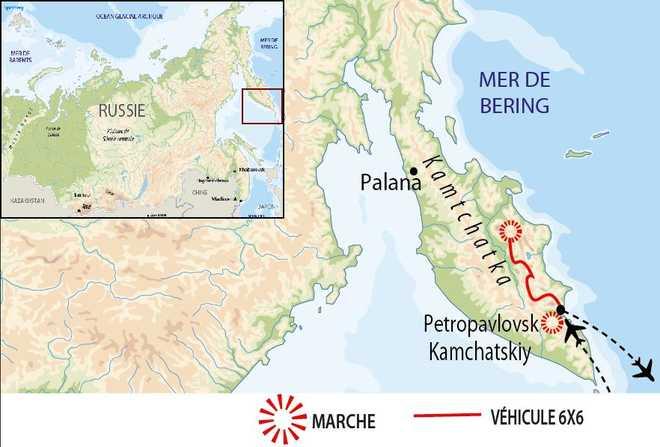 Carte Voyage Russie