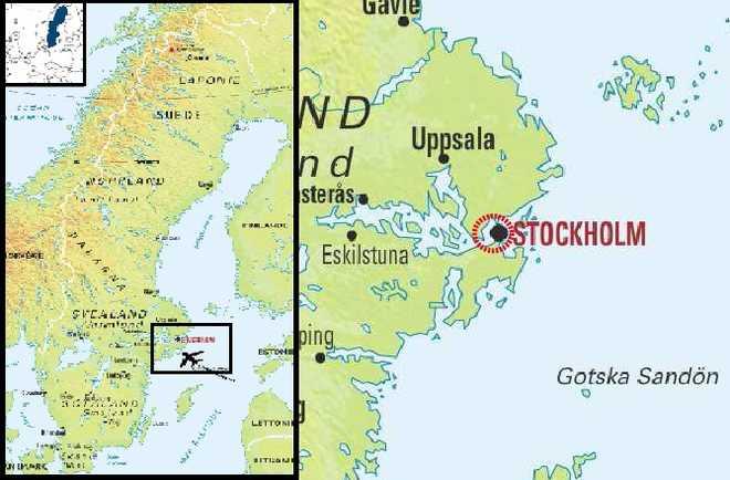Carte Voyage Suède