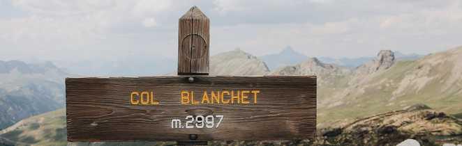 Balisage du Col Blanchet