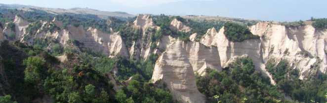 Cheminées de fées de Melnik en Bulgarie
