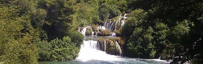 Croatie, le parc national de Krka